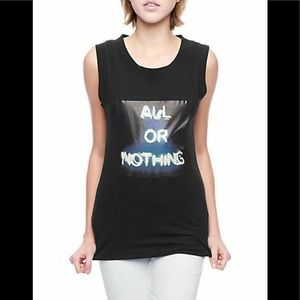True Religion Jean Black Soft Tee Shirt Top